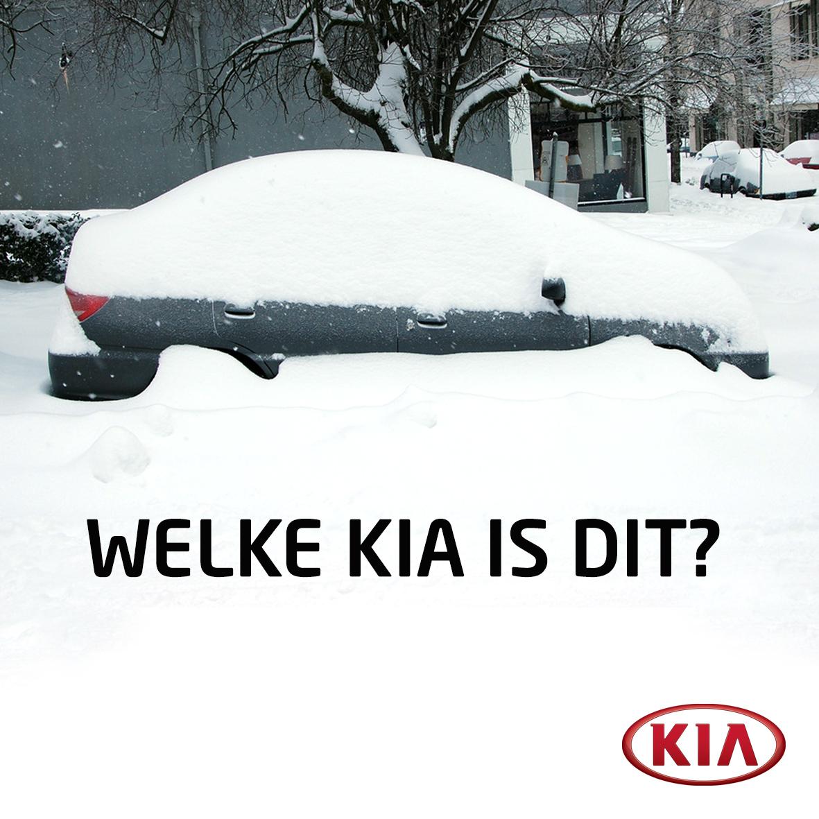 KIA-sneeuw