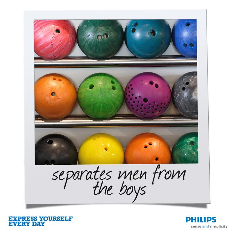 Philips-bowlingball